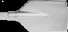 Flachspaten S21, Ø19x65 / 100x450
